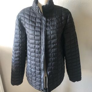 Ben Sherman Black Quilted Coat